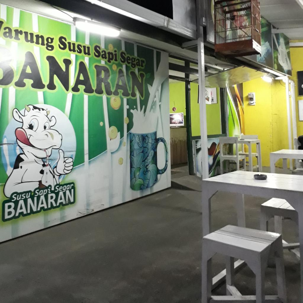 Warung Susu Sapi Segar Banaran - Tempat Minum Susu Sapi Segar di Semarang