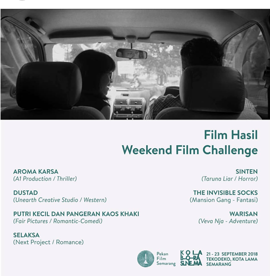 Film Hasil Weekend Film Challenge