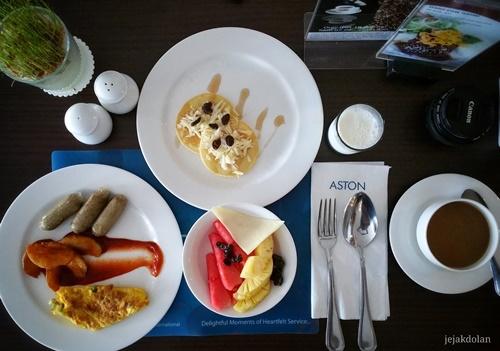 Menu Sarapan Hotel Aston Purwokerto