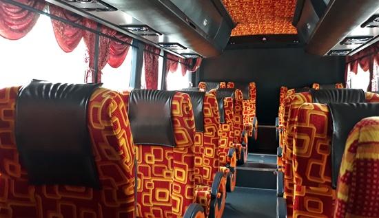 Salah Satu Armada Bus Tujuan Melaka