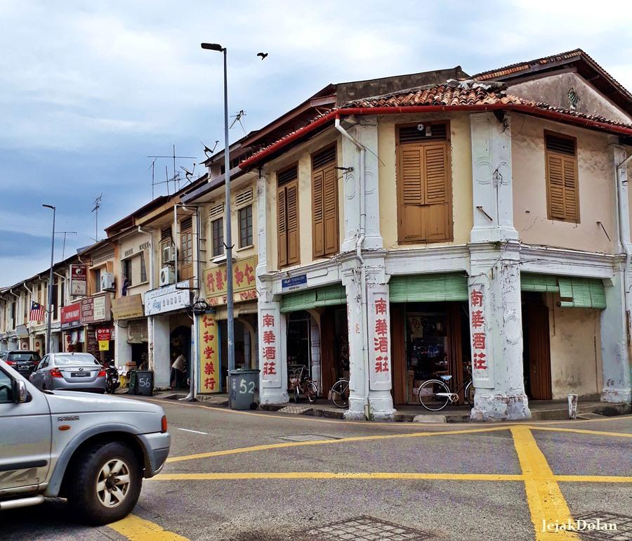 Wisata Melaka - Jalan di Kawasan Kota Tua