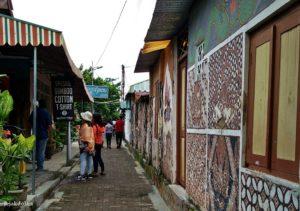 Taman Sari Jogja - Rutenya Melewati Perkampungan Warga