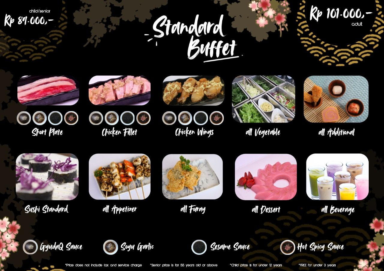 Gyudaq Japanese Bbq Pilihan Kuliner All You Can Eat Di