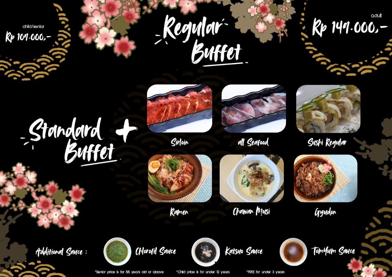 Menu Paket GyudaQ Japanese BBQ