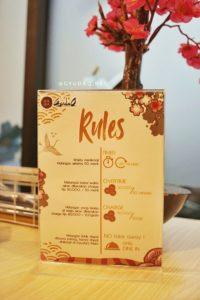GyudaQ Japanese BBQ - Rules Makan