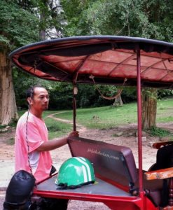 Mr Usman - Supir Tuktuk Siem Reap