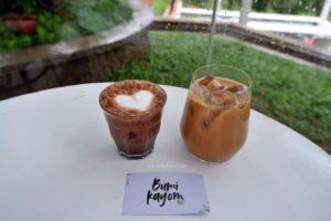 Menu Minuman di Langit Senja Coffee Salatiga