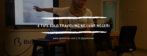 Solo Traveling Cover