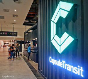 Check in di Capsule Transit KLIA2