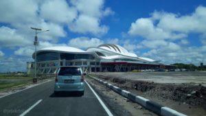 Menuju Terminal Baru Bandara Tjilik Riwut Palangka Raya