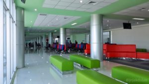 Ruang Tunggu Penumpang di Bandara Tjilik Riwut Palangka Raya