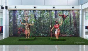 Spot Foto di Bandara Tjilik Riwut Palangka Raya