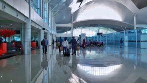 Bagian Dalam Bandara Tjilik Riwut Palangka Raya