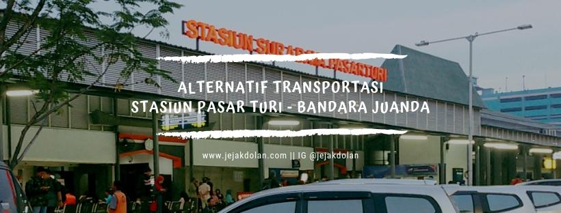 Cara Menuju Bandara Juanda dari Stasiun Turi Surabaya
