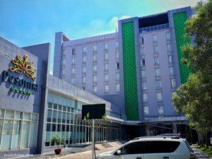 Tampak Depan Hotel Pesonna Semarang
