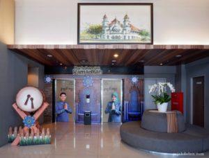 Lift dan Area Lobi Pesonna Hotel Semarang
