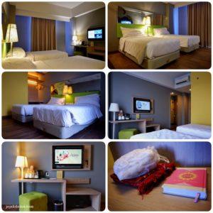 Kamar Deluxe Pesonna Hotel Semarang