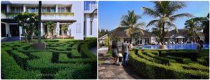 Taman Labirin Hotel Java Heritage Purwokerto