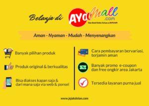 #SiapDiJalan - Keuntungan Belanja di Ayoomall.com - Jejak Dolan
