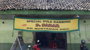 Tempat Makan di Kota Lama Semarang - Gulai Kambing Bustaman Pak Sabar