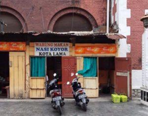 Tempat makan di kota lama semarang - Nasi Koyor Kota Lama