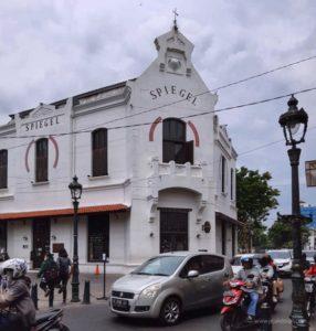 Spiegel Bar and Bistro Kota Lama Semarang
