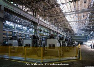 Pabrik Senjata Izhmash - Izhevsk, Rusia
